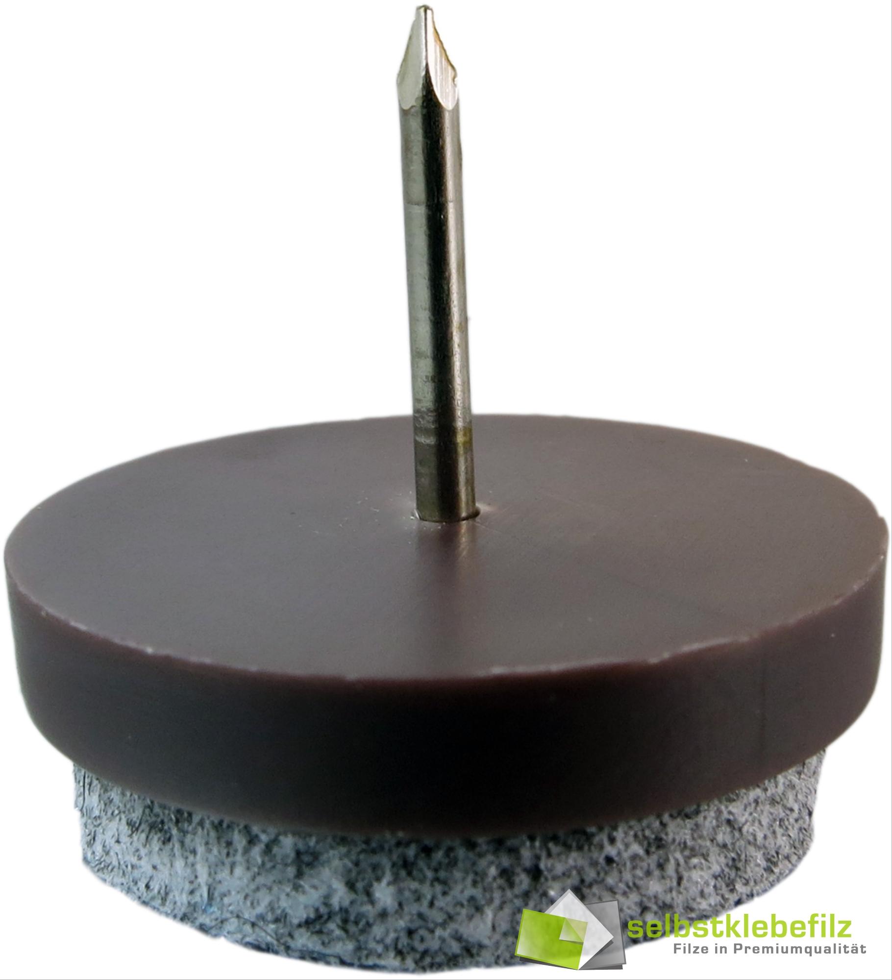 profi m belgleiter langlebig filzgleiter stuhlgleiter mit nagel 17 20 22 24 28 ebay. Black Bedroom Furniture Sets. Home Design Ideas