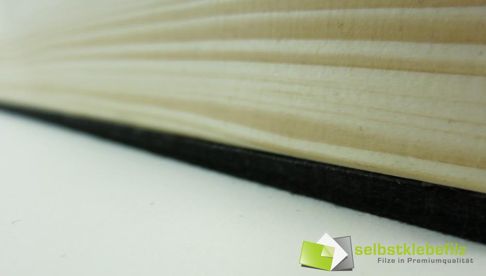 filz meterware 6mm dick stark selbstklebend schwarz. Black Bedroom Furniture Sets. Home Design Ideas