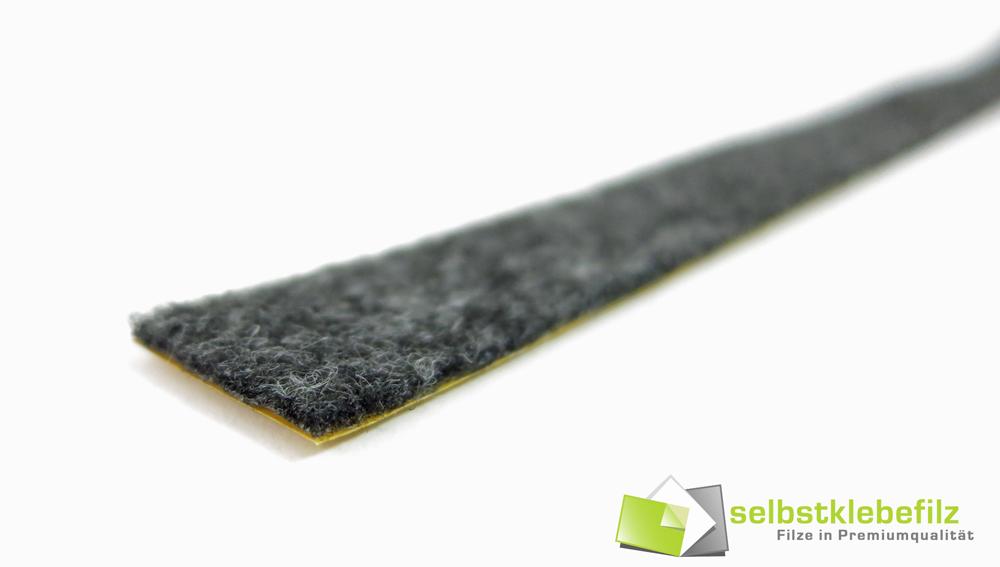 stark selbstklebend 2mm dick Filzband weiß 10m Filzstreifen 15mm breit